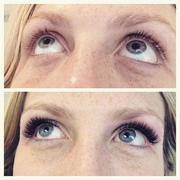 3D Layring lashes, Volume